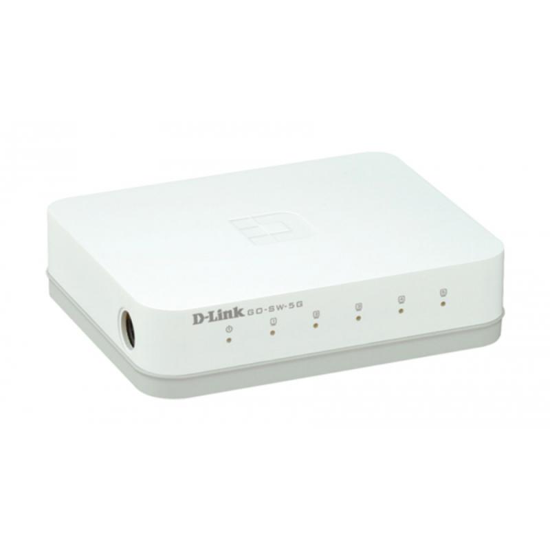 Switch D-Link GO-SW-5G 5 Portas Gigabit