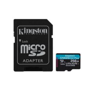 Cartão de memória MicroSD 256GB
