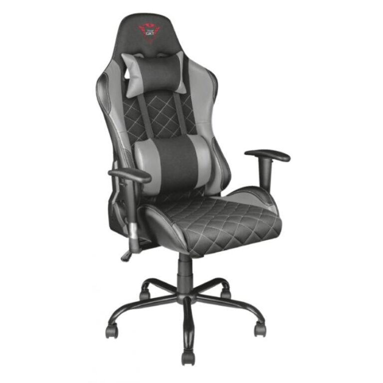 Cadeira Gaming Trust GXT 707R Resto Gaming Cinzento
