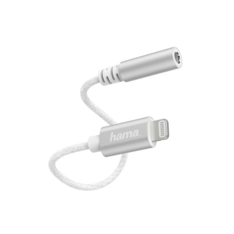 Adaptador de Áudio Hama Lightning 3.5mm