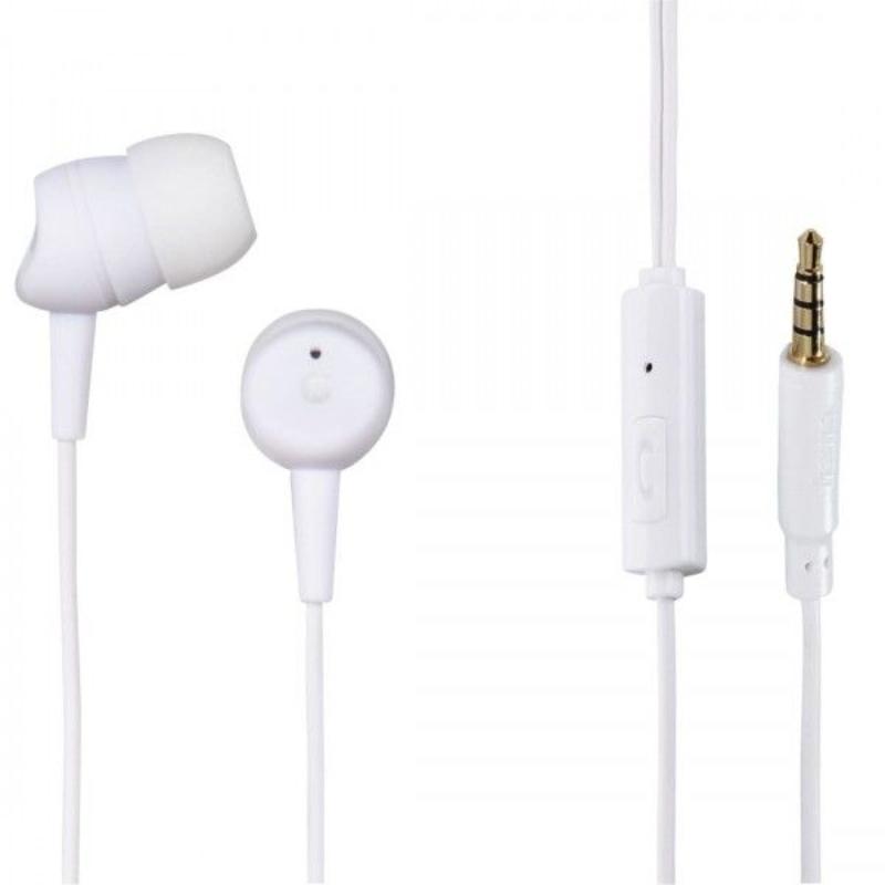 Auriculares c/ Fio + Micro Basic4Phone InEar Hama