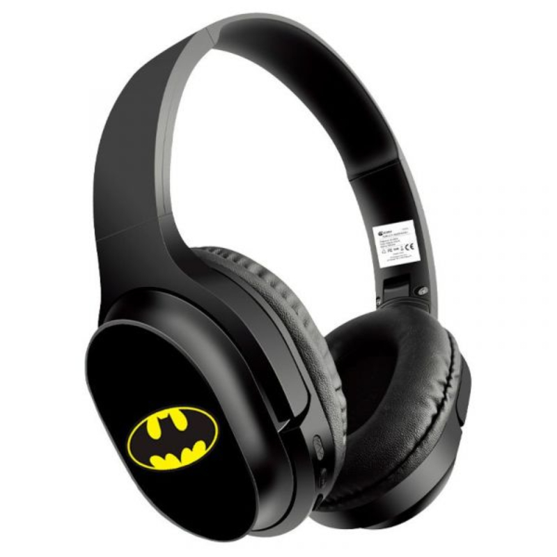 Auscultadores Bluetooth Oficial Dc Batman