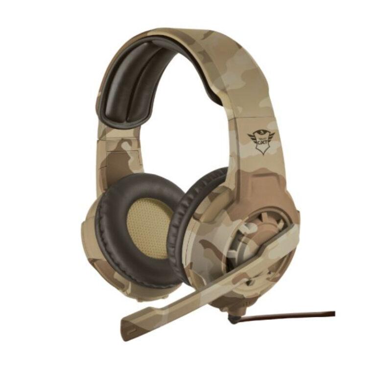 Headset TRUST GXT 310D Radius Desert Camo