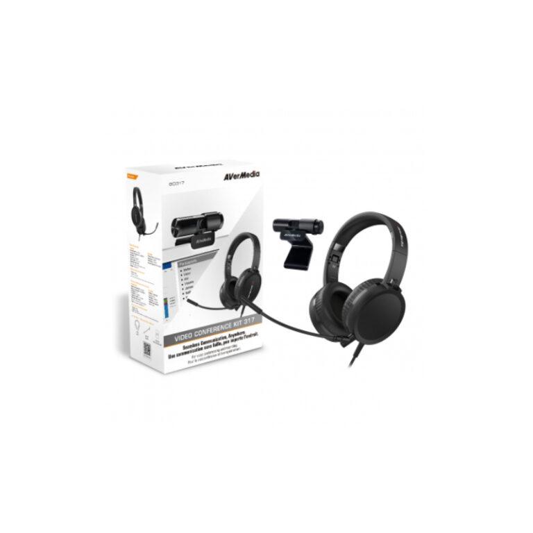Kit Câmara PW313 + Headset AH313 AverMedia Video Conference 317 BO317