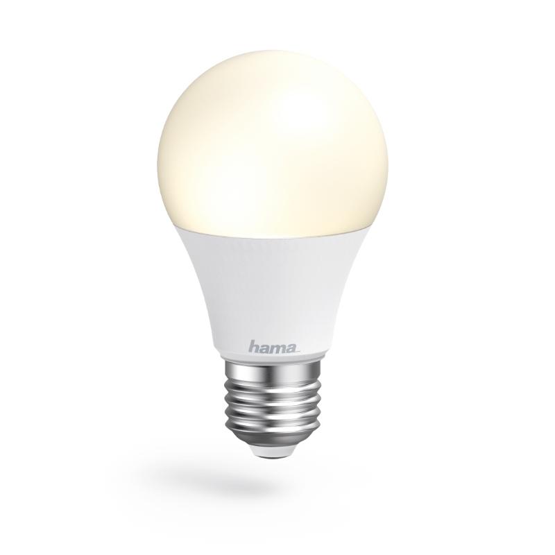 Lâmpada LED WiFi E27 10W Branco Hama