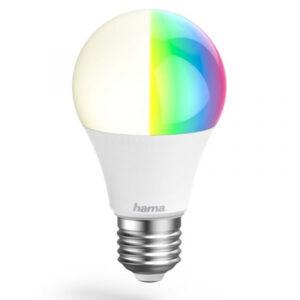Lâmpada LED WiFi E27 10W RGB Hama