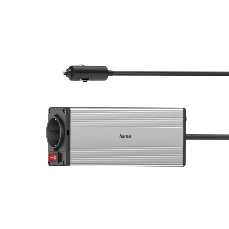 Carregador HAMA inversor DC/AC Power 150 W + USB