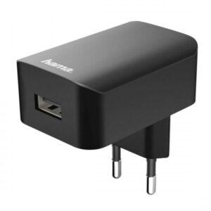 Carregador Hama 220V USB 1.0A Preto