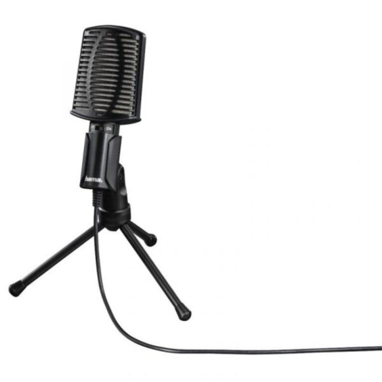 Microfone Hama Mic-USB All Allround Preto