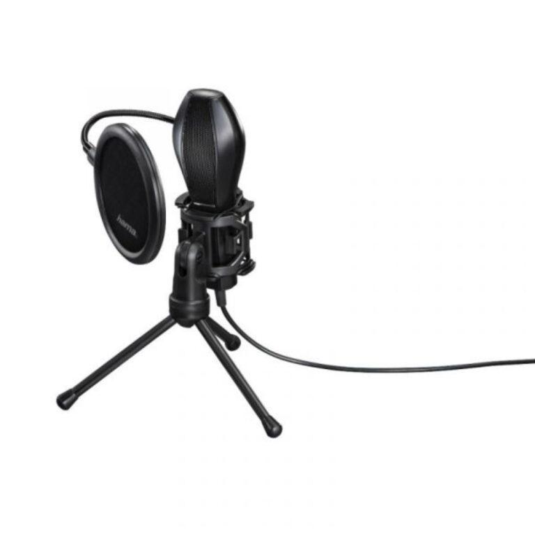 Microfone Hama Mic-USB Stream Preto