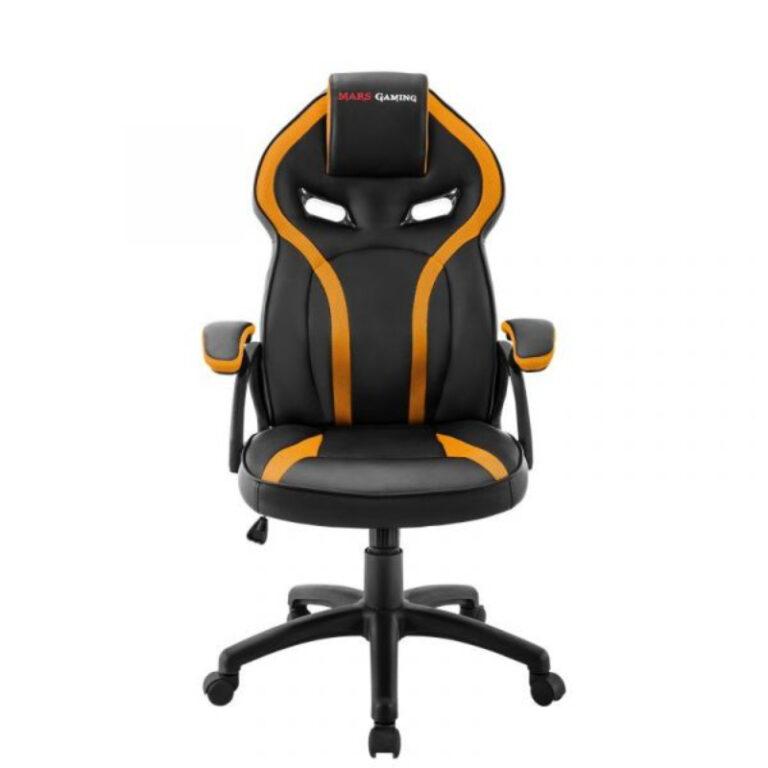 Cadeira Gaming Mars Gaming MGC118 Preto/Amarelo