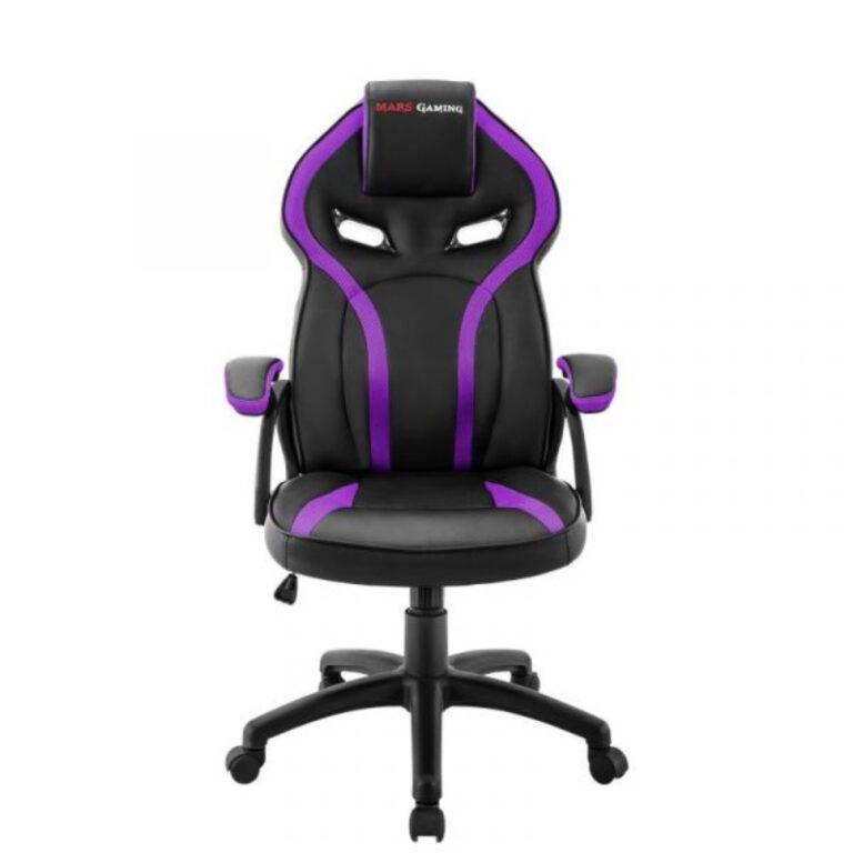 Cadeira Gaming Mars Gaming MGC118 Preto/Roxo