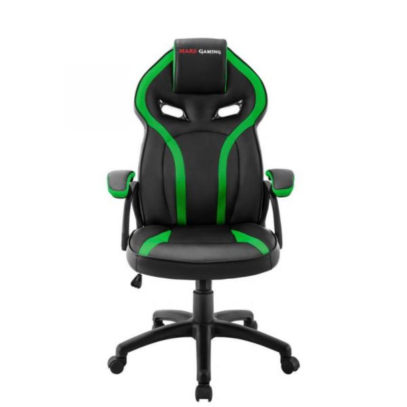 Cadeira Gaming Mars Gaming MGC118 Preto/Verde