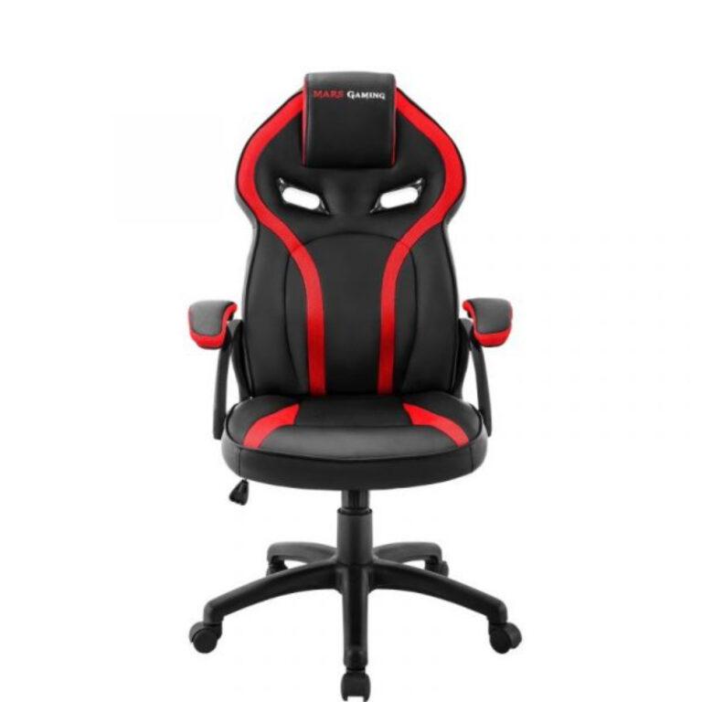 Cadeira Gaming Mars Gaming MGC118 Preto/Vermelho