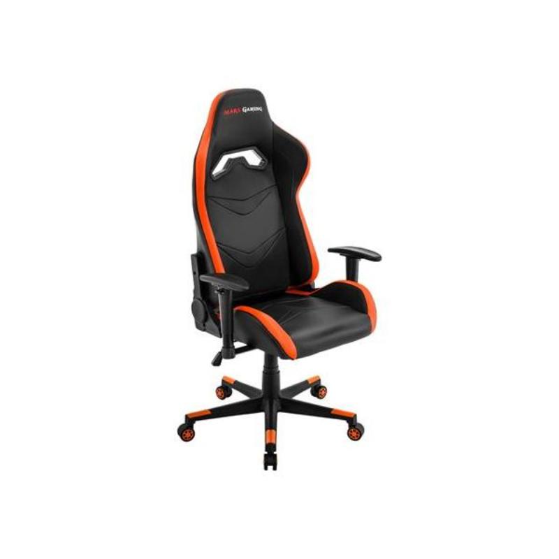 Cadeira Gaming Mars Gaming MGC3 Preto/Laranja