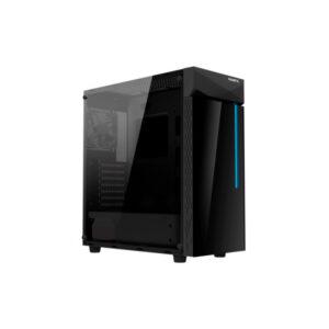 Caixa ATX Gigabyte C200 Glass RGB Preta