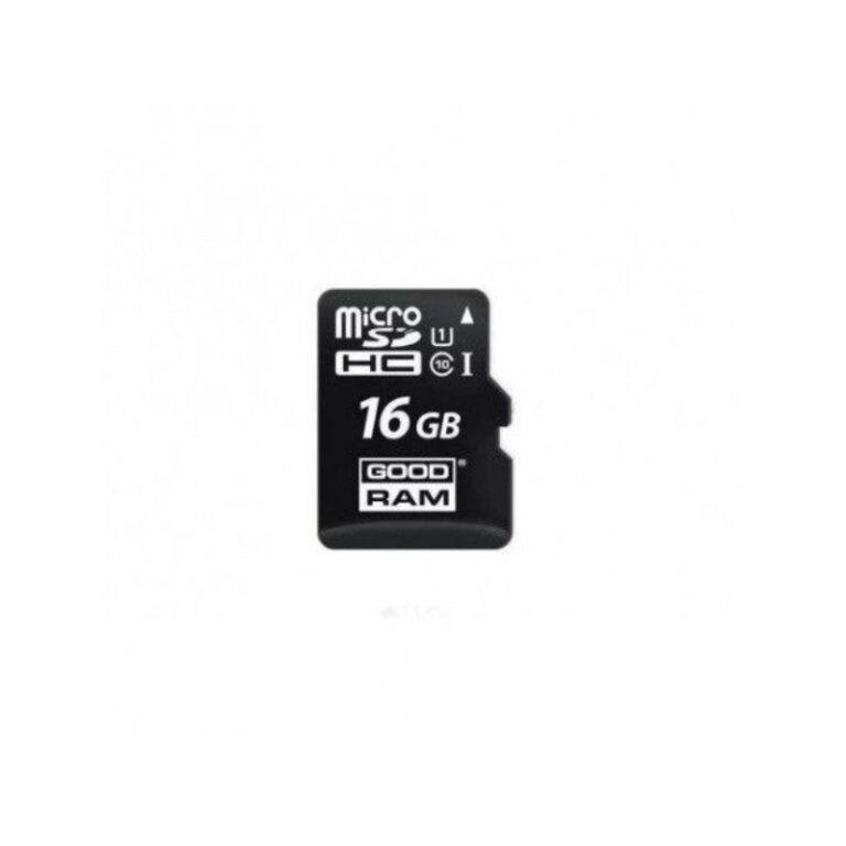 Cartão de memória Goodram 16GB MicroSDHC Class 10 UHS-I