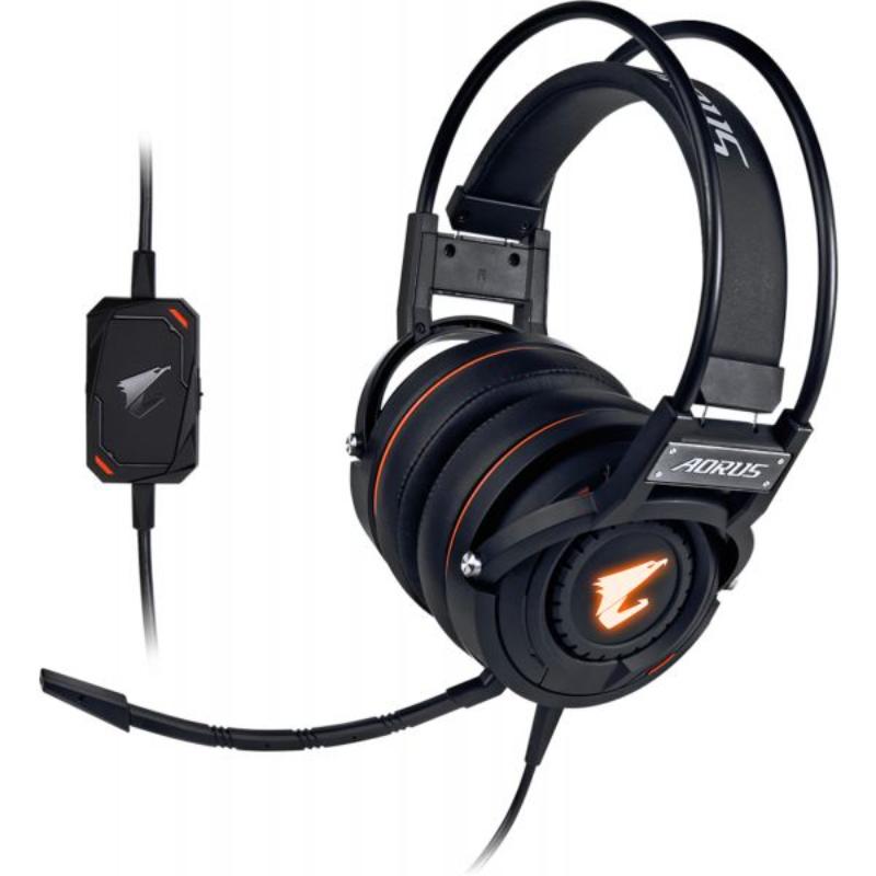 Headset Gigabyte AORUS H5 RGB Gaming