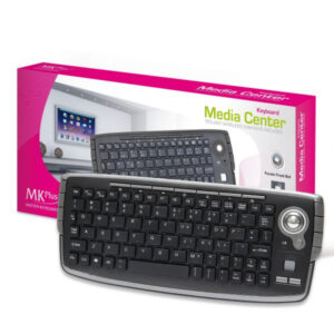 Teclado MKPlus Slim Media Center Game Preto