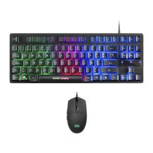 Combo Teclado e Rato Mars Gaming MCPTKL RGB USB PT