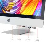Hub Satechi USB-C Aluminium Clamp Pro Prateado