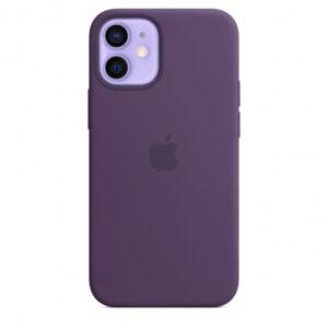 Capa iPhone 12 Mini MagSafe Silicone Amethys