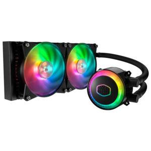 Cooler CPU CoolerMaster MasterLiquid ML240R RGB Liquid