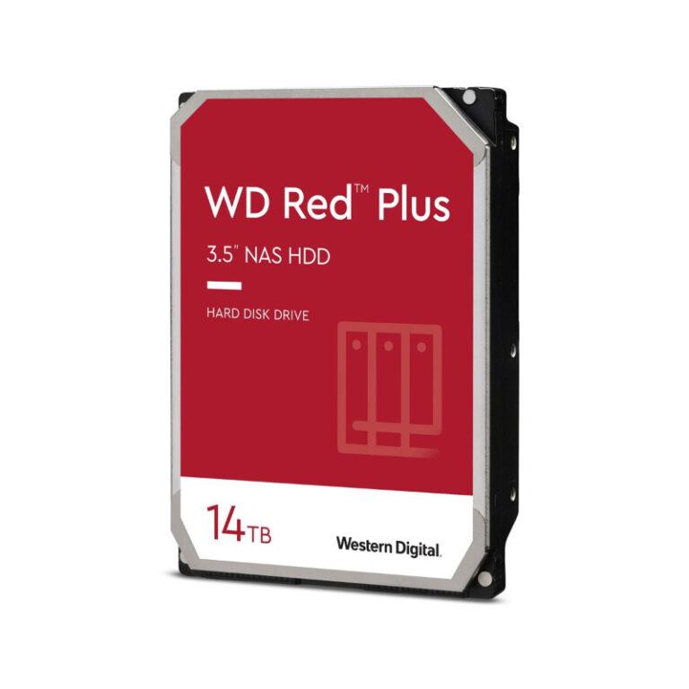 Disco Rígido Western Digital Red Plus 14TB 3.5