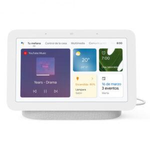 Google Nest Hub 2ª Geração Coluna Inteligente e Assistente com Ecrã Tiza