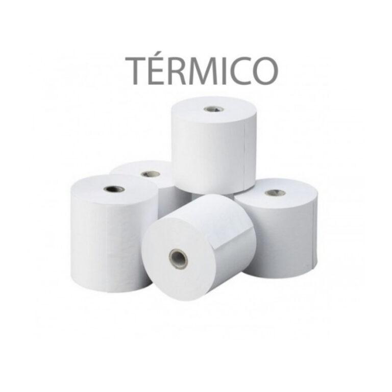 Rolos de papel térmico 57x40x11 Pack 10