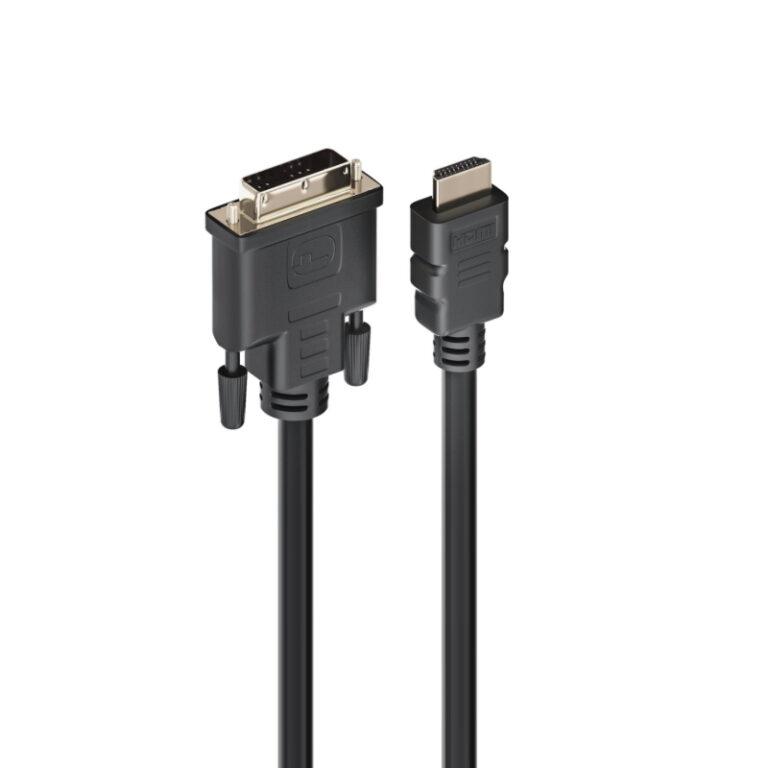 Cabo Adaptador EWENT HDMI para DVI-D 2m