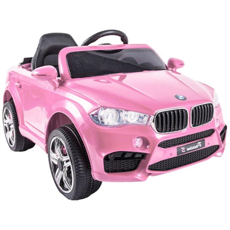 Carro Telecomando para Crianças BMW - Rosa