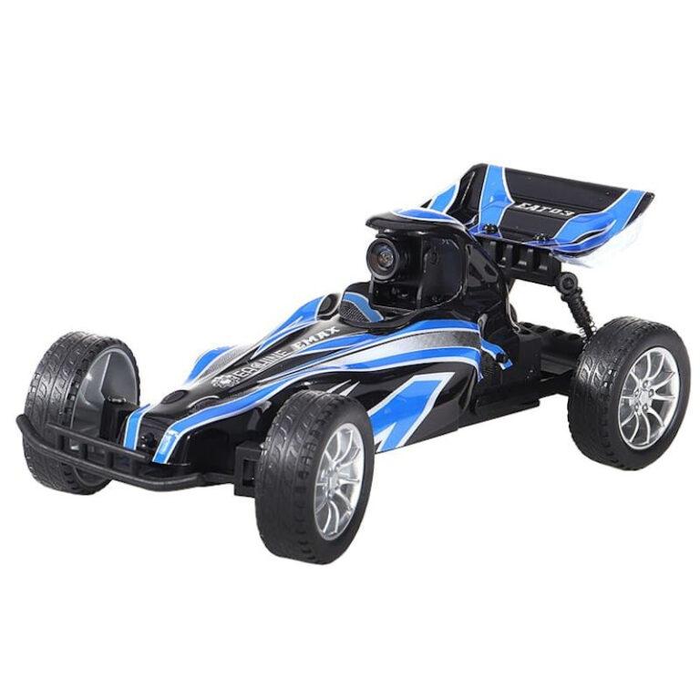 Carro Telecomandado - Eachine EAT03 1/24 RWD + Óculos VR EMAX - Azul