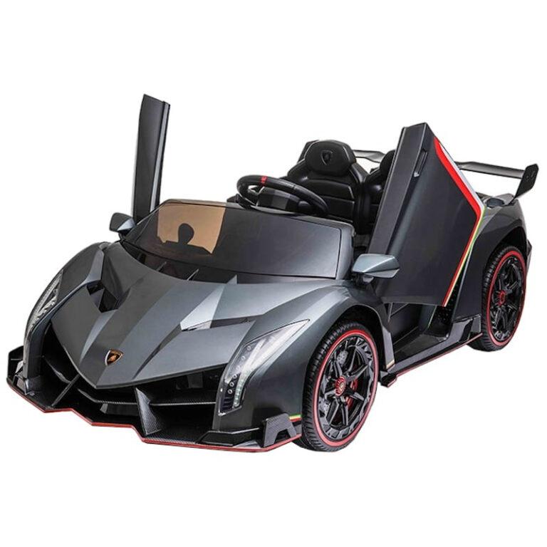 Carro Telecomando para Crianças Lamborghini Veneno - Cinzento