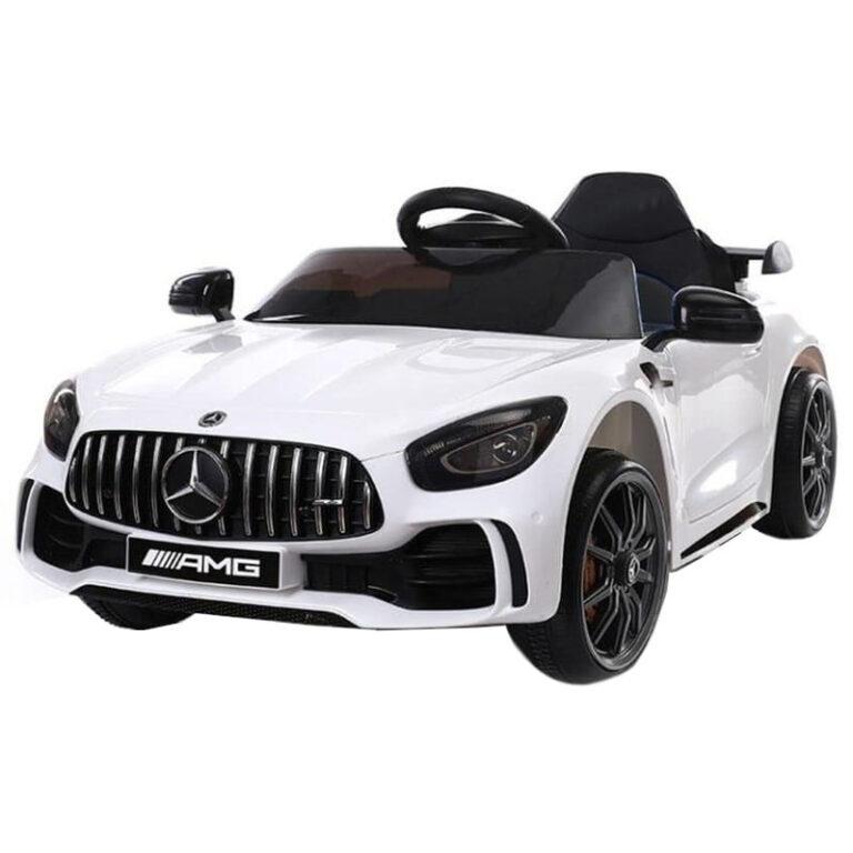 Carro Telecomando para Crianças Mercedes-Benz GTR - Branco