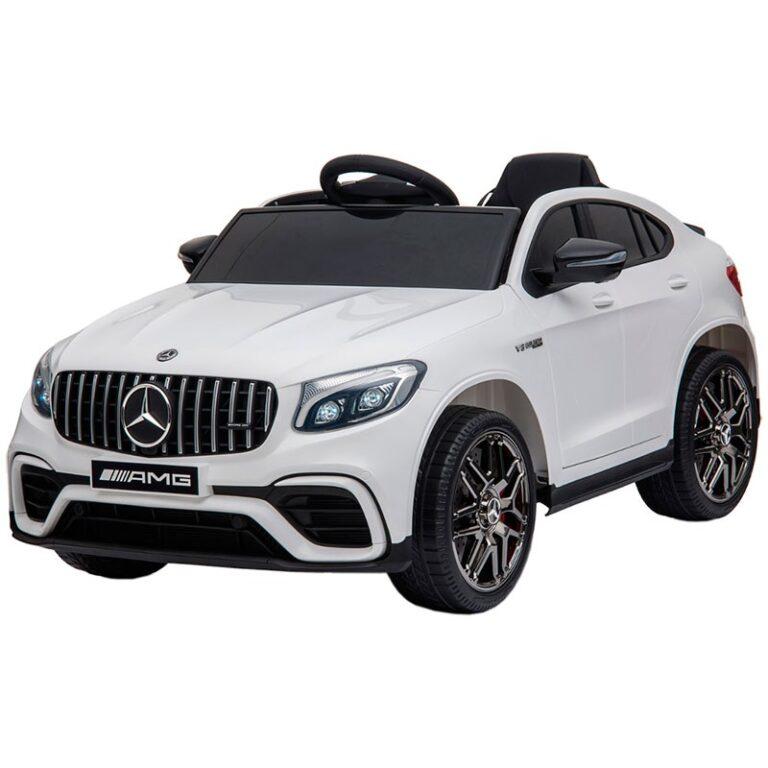 Carro Telecomando para Crianças Mercedes GLC 63S AMG - Branco