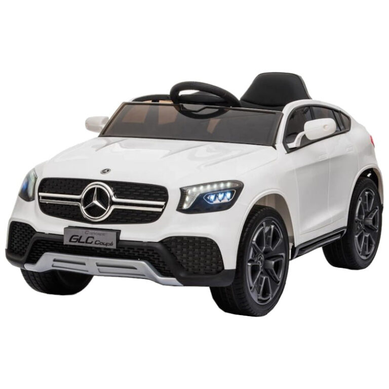 Carro Telecomando para Crianças Mercedes GLC Coupe - Branco