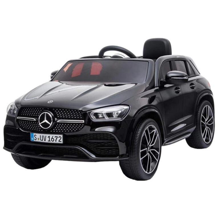 Carro Telecomando para Crianças Mercedes GLE 450 - Preto