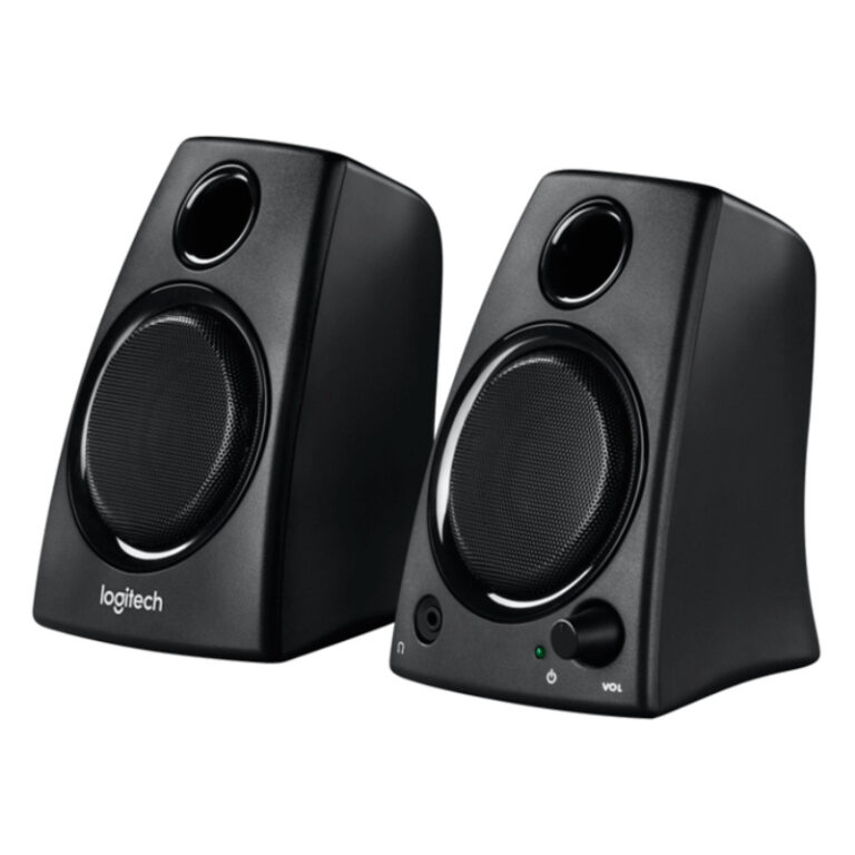 Colunas Logitech Z130 Stereo 2.0 10W Peak / 5W RM - Preto