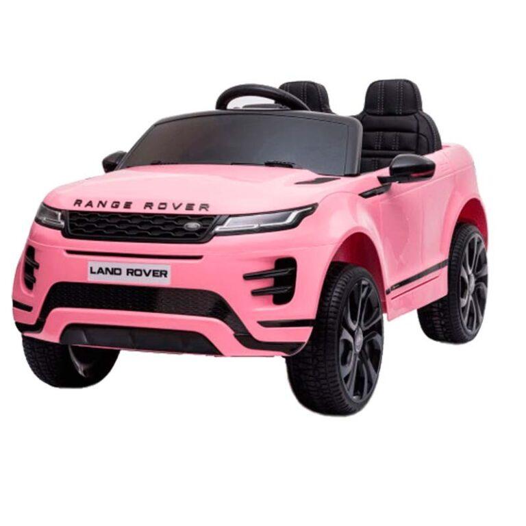 Carro Telecomando para Crianças Range Rover Evoque - Rosa