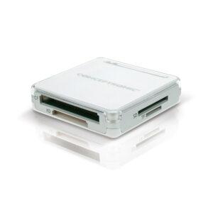 Leitor de cartões Conceptronic All-In-One USB 2.0 Prateado