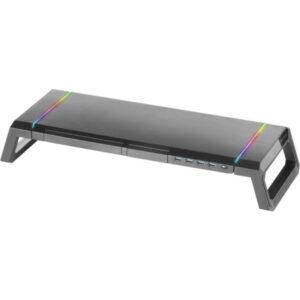 Stand para Monitor, Tablet e Smartphone Mars Gaming MGS RGB