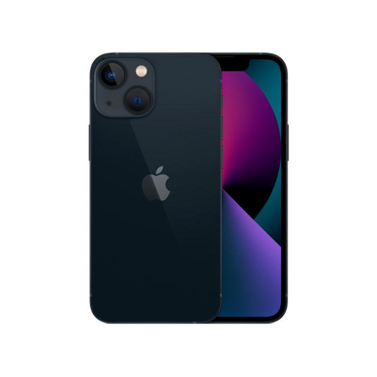 "Smartphone Apple iPhone 13 Mini 128GB Meia-Noite 5.4"""