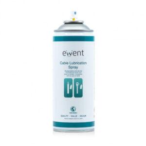 Spray Lubrificante de Cabos Ewent EW5618 400ml