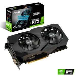 Placa Gráfica Asus GeForce RTX 2060 Dual 6GB OC EVO