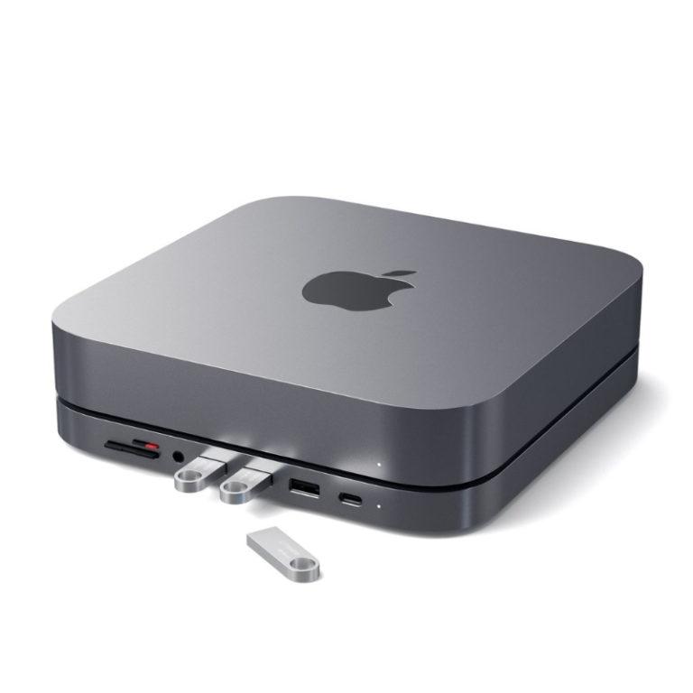 Hub e Stand Satechi - Type-C para Mac Mini Alumínio